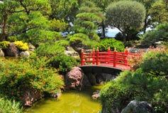 Ιαπωνικός κήπος στο Μόντε Κάρλο, Μονακό Στοκ φωτογραφίες με δικαίωμα ελεύθερης χρήσης