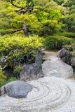 Ιαπωνικός κήπος της Zen Στοκ φωτογραφία με δικαίωμα ελεύθερης χρήσης