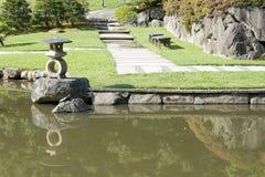 Ιαπωνικός κήπος του Σιάτλ Στοκ Φωτογραφία
