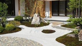 Ιαπωνικός κήπος ύφους Στοκ εικόνα με δικαίωμα ελεύθερης χρήσης