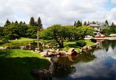 Ιαπωνικός κήπος Στοκ Εικόνες