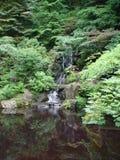 ιαπωνικός καταρράκτης κήπ&ome Στοκ φωτογραφία με δικαίωμα ελεύθερης χρήσης