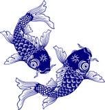 Ιαπωνικός κυπρίνος Στοκ εικόνα με δικαίωμα ελεύθερης χρήσης