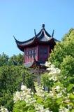 ιαπωνικός κόκκινος πύργο&si Στοκ Φωτογραφία