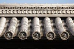 ιαπωνικός ναός στεγών Στοκ Φωτογραφίες
