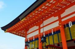 ιαπωνικός ναός στεγών Στοκ Εικόνα