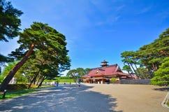 Ιαπωνικός ναός το καλοκαίρι Στοκ Φωτογραφία