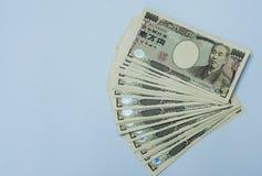 Ιαπωνικός λογαριασμός γεν Στοκ Εικόνα