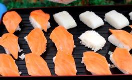 Ιαπωνικός παραδοσιακός εύγευστος σουσιών - ιαπωνικά τρόφιμα Στοκ φωτογραφία με δικαίωμα ελεύθερης χρήσης