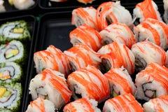 Ιαπωνικός παραδοσιακός εύγευστος σουσιών - ιαπωνικά τρόφιμα Στοκ εικόνες με δικαίωμα ελεύθερης χρήσης