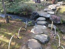 ιαπωνικός παραδοσιακός κήπων Στοκ εικόνα με δικαίωμα ελεύθερης χρήσης