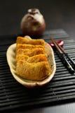 Ιαπωνικός παραδοσιακός τύπος inari-Zushi σουσιών Στοκ Εικόνα
