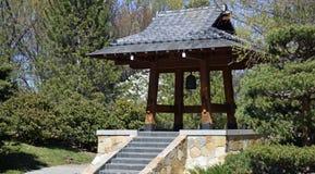 Ιαπωνικός πύργος κουδουνιών κήπων του Σάσεμπο στοκ φωτογραφία με δικαίωμα ελεύθερης χρήσης