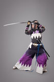 Ιαπωνικός Σαμουράι με το ξίφος katana Στοκ φωτογραφίες με δικαίωμα ελεύθερης χρήσης