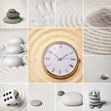 ιαπωνικός χρόνος πετρών κήπ&ome Στοκ φωτογραφίες με δικαίωμα ελεύθερης χρήσης