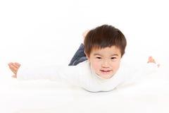 Ιαπωνικό αεροπλάνο παιχνιδιού αγοριών Στοκ Εικόνες