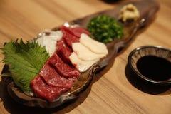 Ιαπωνικό ακατέργαστο κρέας Στοκ φωτογραφία με δικαίωμα ελεύθερης χρήσης