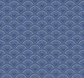 Ιαπωνικό γεωμετρικό άνευ ραφής σχέδιο Στοκ Φωτογραφία