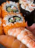 ιαπωνικό γεύμα εθνικό Στοκ εικόνα με δικαίωμα ελεύθερης χρήσης