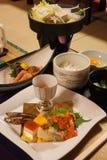 ιαπωνικό γεύμα Στοκ Εικόνες