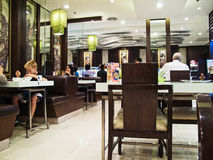 ιαπωνικό εστιατόριο Στοκ φωτογραφίες με δικαίωμα ελεύθερης χρήσης