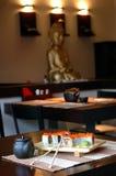 ιαπωνικό εστιατόριο Στοκ εικόνες με δικαίωμα ελεύθερης χρήσης
