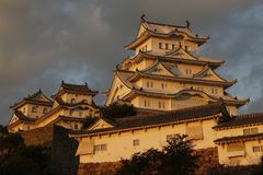 Ιαπωνικό κάστρο Στοκ Εικόνες