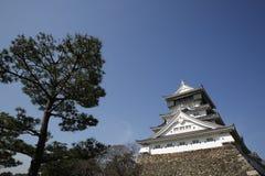 Ιαπωνικό κάστρο Kumamoto Στοκ Εικόνα