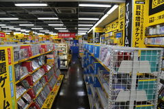 ιαπωνικό κατάστημα ηλεκτρονικής Στοκ φωτογραφία με δικαίωμα ελεύθερης χρήσης