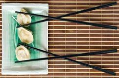 ιαπωνικό κρέας μπουλεττών στοκ εικόνες