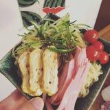 Ιαπωνικό κρύο πιάτο ζυμαρικών Στοκ Εικόνα