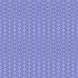 Ιαπωνικό κύμα Άνευ ραφής σχέδιο με τις ογκομετρικές σκιές Στοκ φωτογραφία με δικαίωμα ελεύθερης χρήσης