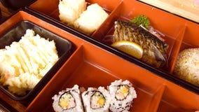 ιαπωνικό μεσημεριανό γεύμ&alp Στοκ εικόνα με δικαίωμα ελεύθερης χρήσης