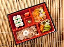ιαπωνικό μεσημεριανό γεύμ&alp Στοκ Εικόνα
