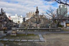 Ιαπωνικό νεκροταφείο στοκ φωτογραφίες