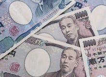 Ιαπωνικό νόμισμα γεν, χρήματα της Ιαπωνίας στοκ εικόνα με δικαίωμα ελεύθερης χρήσης
