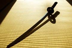 ιαπωνικό ξίφος katana Στοκ Εικόνες