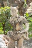 Ιαπωνικό παιδί αγαλμάτων Στοκ εικόνες με δικαίωμα ελεύθερης χρήσης