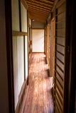 ιαπωνικό παλαιό tatami shoji δωματίων Στοκ εικόνα με δικαίωμα ελεύθερης χρήσης