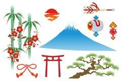 Ιαπωνικό παραδοσιακό πράγμα ελεύθερη απεικόνιση δικαιώματος