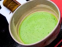 Ιαπωνικό παραδοσιακό πράσινο σύνολο τσαγιού Στοκ φωτογραφία με δικαίωμα ελεύθερης χρήσης