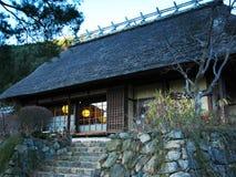 Ιαπωνικό παραδοσιακό σπίτι Στοκ φωτογραφία με δικαίωμα ελεύθερης χρήσης