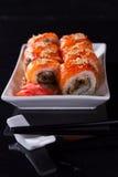 Ιαπωνικό πιάτο σουσιών Στοκ Εικόνες