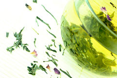 Ιαπωνικό πράσινο τσάι Στοκ φωτογραφία με δικαίωμα ελεύθερης χρήσης