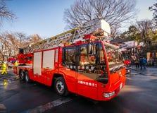 Ιαπωνικό πυροσβεστικό όχημα Στοκ εικόνες με δικαίωμα ελεύθερης χρήσης