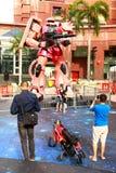 Ιαπωνικό ρομπότ Gundam Στοκ εικόνα με δικαίωμα ελεύθερης χρήσης