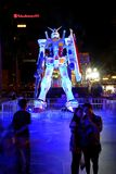 Ιαπωνικό ρομπότ Gundam Στοκ φωτογραφίες με δικαίωμα ελεύθερης χρήσης