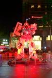 Ιαπωνικό ρομπότ Gundam Στοκ Εικόνες