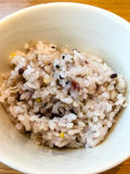 Ιαπωνικό ρύζι με τα δημητριακά στοκ εικόνες