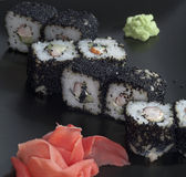 Ιαπωνικό ρύζι σουσιών στοκ φωτογραφίες με δικαίωμα ελεύθερης χρήσης